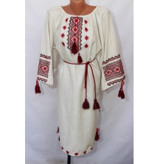 Платье вышитое женское оптом 1307782 007