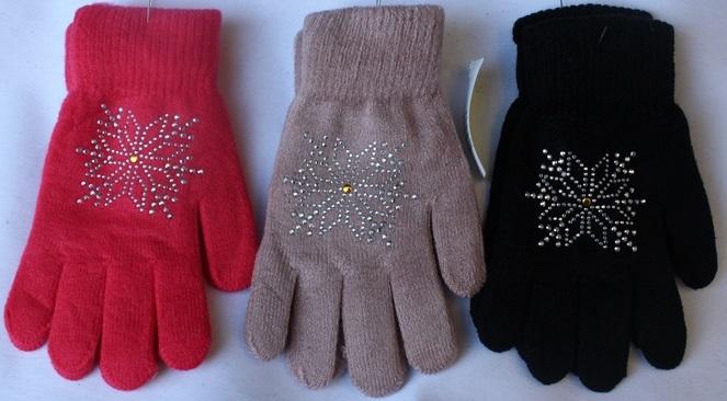 Перчатки подростковые оптом 48012963 С7129-1