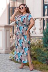 Платья женские БАТАЛ оптом 51709384 23-15