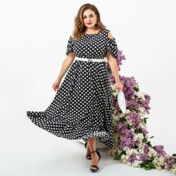 Платья женские БАТАЛ оптом 98432170  6608-1