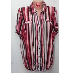 Рубашка летняя женская Батал 08056240236