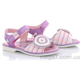 Босоножки, Style-baby-Clibee оптом NN114 purple