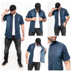 Рубашки мужские БАТАЛ оптом 97436105 Б-47