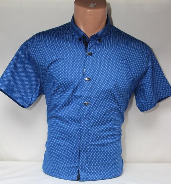 Рубашки мужские оптом 25044471 5057-4