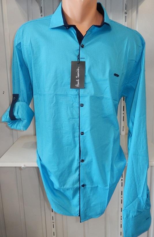 Рубашки мужские батал оптом 31071830 0729-14