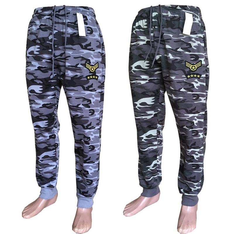 Спортивные штаны мужские камуфляж оптом 53480719 7628