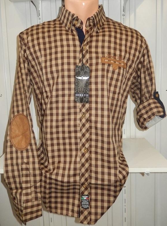 Рубашки мужские полу батал оптом 13081830 5210-13