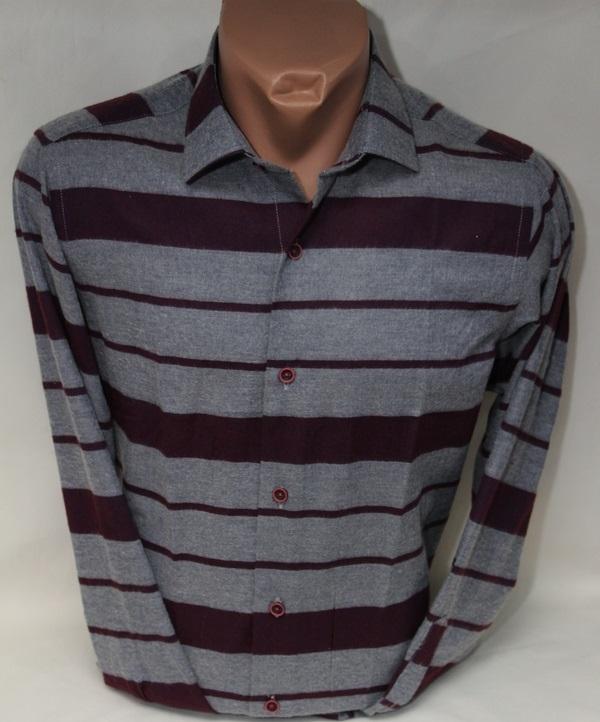 Рубашки мужские Турция оптом 83296750 9694-8