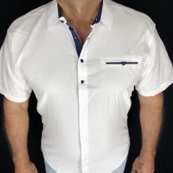 Рубашки мужские VARETTI ПОЛУБАТАЛ оптом 80216479 09 -151