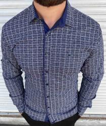 Рубашки мужские оптом 08639175 02-49
