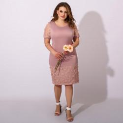 Платья женские БАТАЛ оптом 05683127 09-28