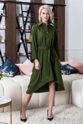 Платья-рубашки женские оптом 61987032 0080-2
