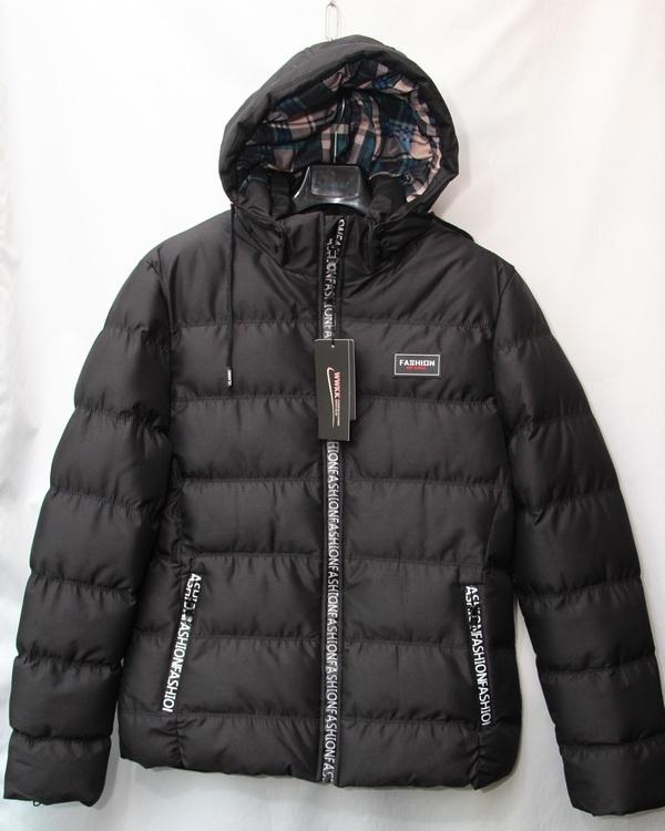 Куртки мужские AAL black оптом 23417985 81077E-1