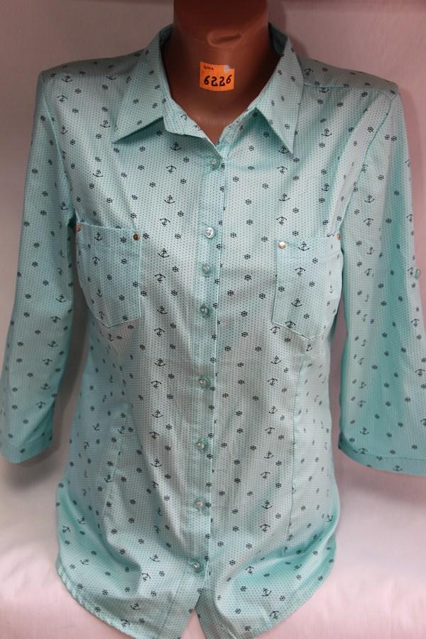 Рубашки женские оптом 42615897 5160-6