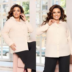 Рубашки женские ПОЛУБАТАЛ оптом 61784950 283-1-22