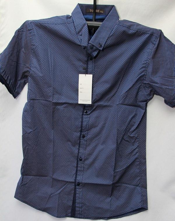Рубашки мужские Турция оптом 2004523 3636-45