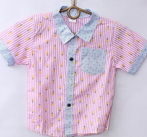 Рубашки детские оптом 64795213 1-3
