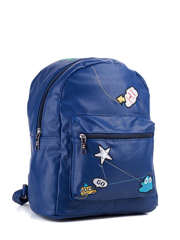Рюкзаки LITTLE PIGEON  blue оптом 24071597 B-09-2 -13
