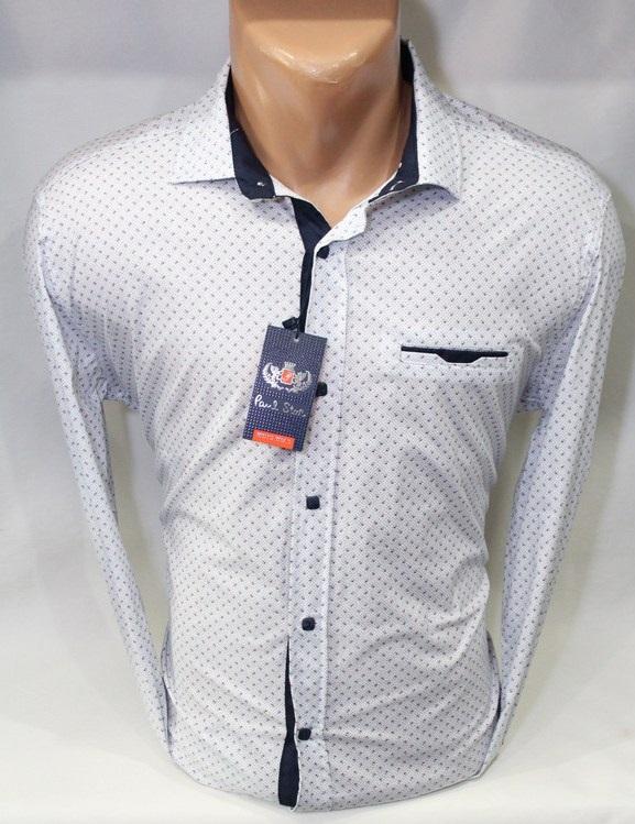 Рубашки PAUL STAR мужскиеТурция оптом 10824356