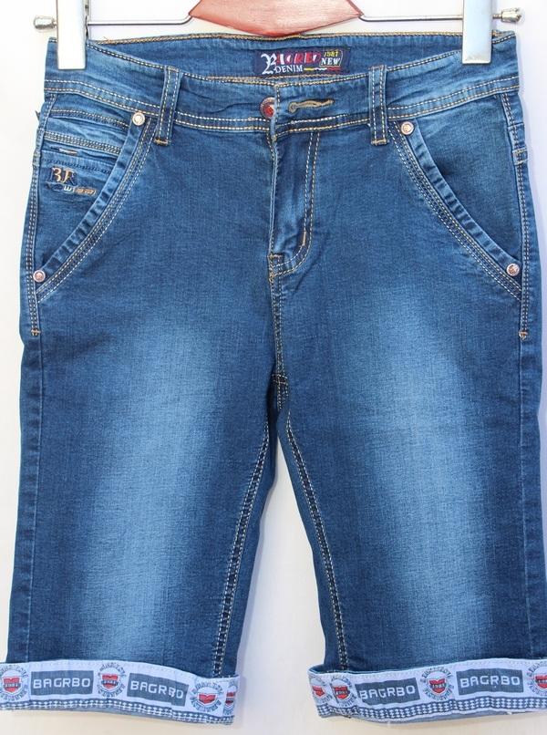 Шорты джинсовые детские оптом 83762940 078