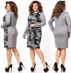 Платья женские БАТАЛ оптом 37501948 164-12