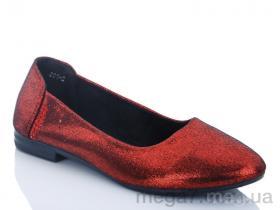 Балетки, QQ shoes оптом 601-2 уценка