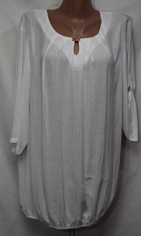 Блуза женская БАТАЛ оптом 18021410 235