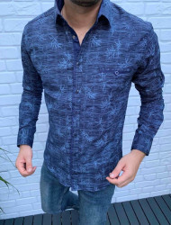 Рубашки мужские VARETTI оптом 43190685 04-59