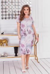 Платья женские БАТАЛ оптом 79041328 01-1