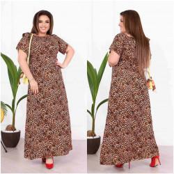 Платья женские БАТАЛ оптом 59083614 7218-6