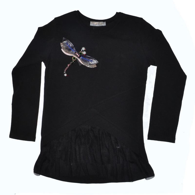 Блузы детские для девочек Little star Турция оптом 23059478 498-7