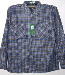 Рубашки мужские HETAI на флисе оптом 63497512 А688-7