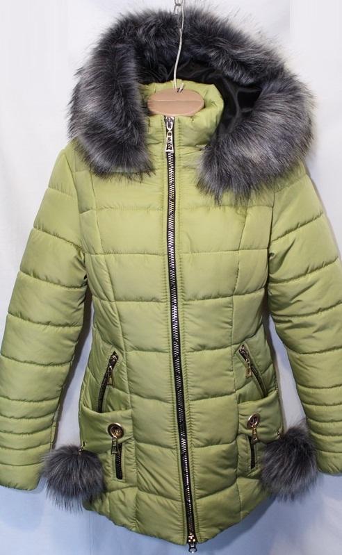 Куртки  Украина женские  оптом 83196025 7535-6