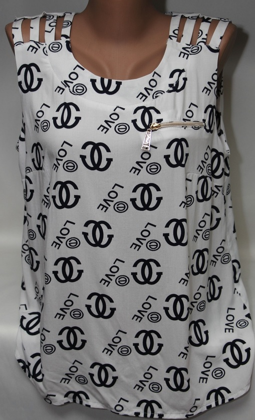 Рубашки женские оптом 24054010 3297-1