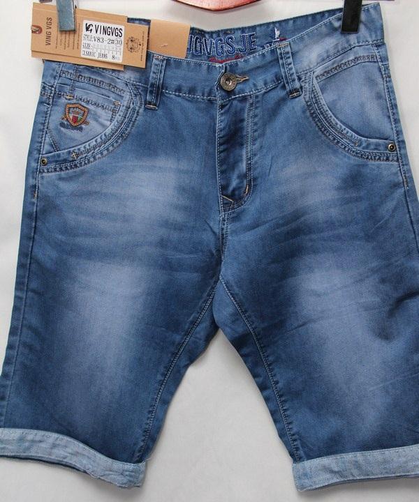 Шорты джинсовые мужские оптом 16234785 83-90