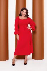 Платья женские БАТАЛ оптом 68149750 5565 -6
