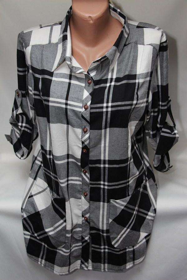 Рубашки женские оптом 2103651 6124-6