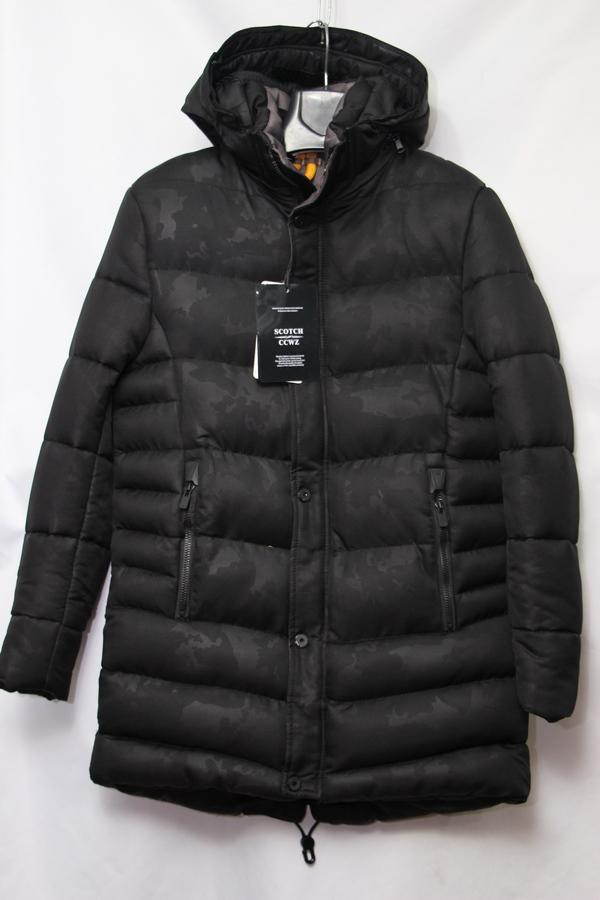 Куртка SCOTCH зимняя мужская оптом 85027631 Z-7697