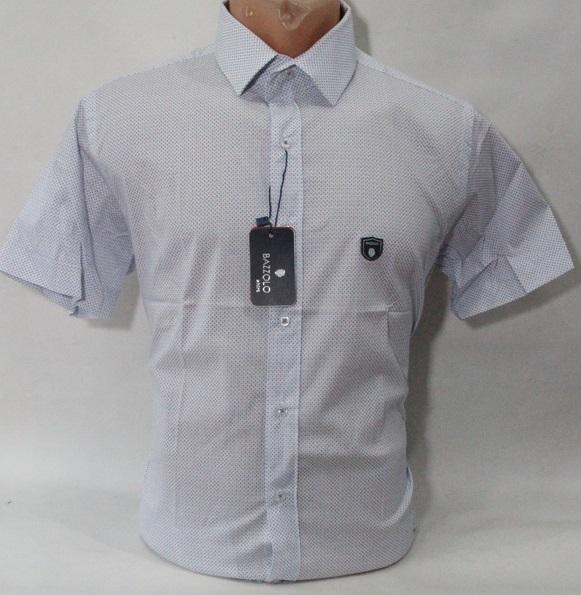 Рубашки мужские Турция оптом 83257614 1646-3