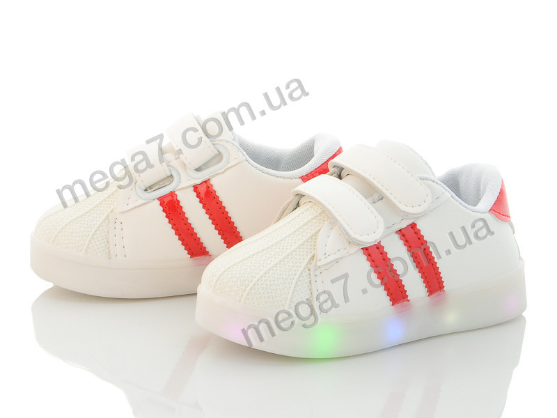 Кроссовки, Clibee-Doremi оптом N208 red LED