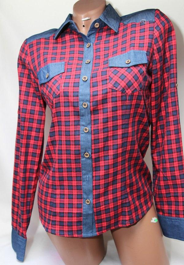 Рубашки женские оптом 1903807 50-5