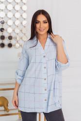 Блузки женские БАТАЛ оптом 74593206  2105-3