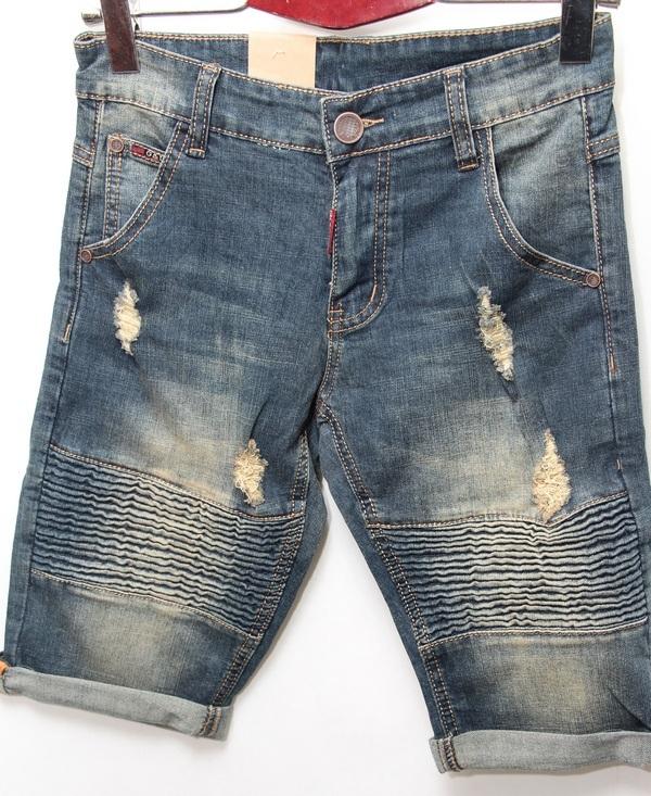 Шорты джинсовые мужские CELUKKIG LEVEN оптом 08061340 895