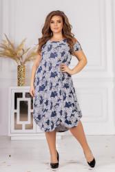 Платья женские БАТАЛ оптом 91376845 05 -1