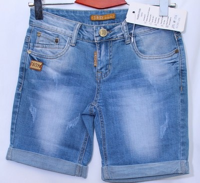 Шорты джинсовые женские X&Dоптом 27956304 1715