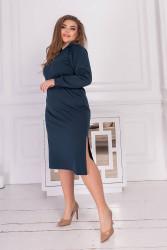 Платья женские БАТАЛ оптом 14670398 05  -11