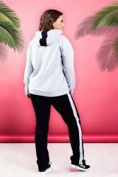 Спортивные костюмы женские БАТАЛ оптом 80256341 408-5