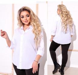 Рубашки женские БАТАЛ оптом 71023459  182-7