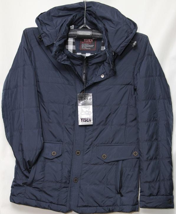 Куртки мужские YISEN оптом 62703581 DM-06