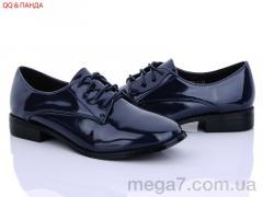 Туфли, QQ shoes оптом 3139-6 уценка